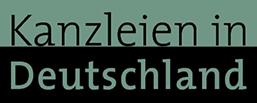 Logo Kanzleien in Deutschland